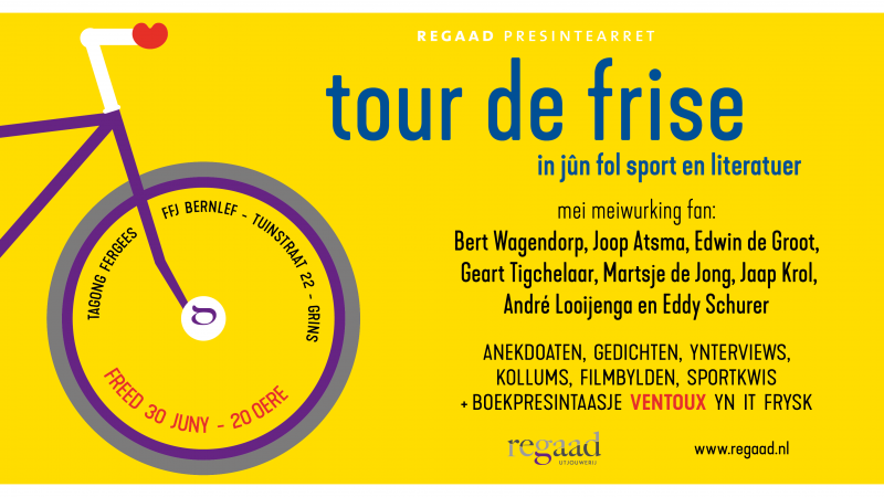 'Tour de Frise' mei Bert Wagendorp